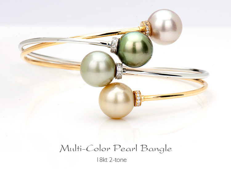 Pearl Bangle-Bst