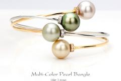 Pearl Bangle-Bst
